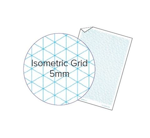 A4 5mm Isometric Grid Loose Leaf Scholastic Paper