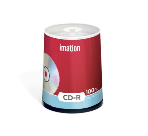 IMATION CD-R 52X 100PCS SPINDL E 700MB