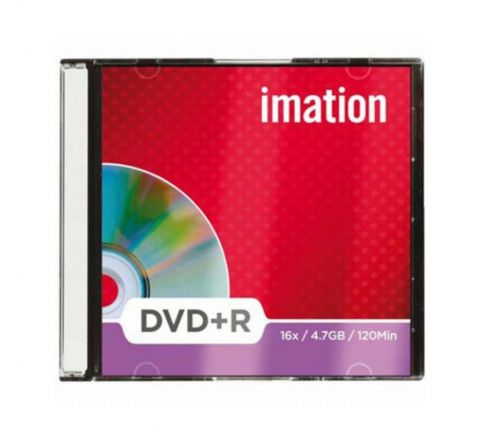 IMATION DVD+R 16X 4.7GB SLIM JEWEL CASE