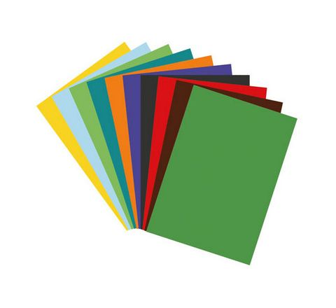 Coloured Poster Paper Sheets Packs Assorted Pack 100