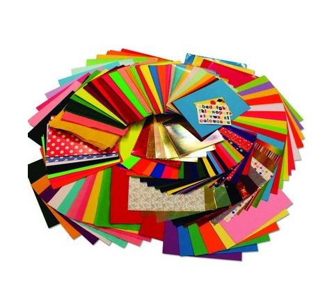Bumper Crafts Paper Pack, 538 Assorted Sheets