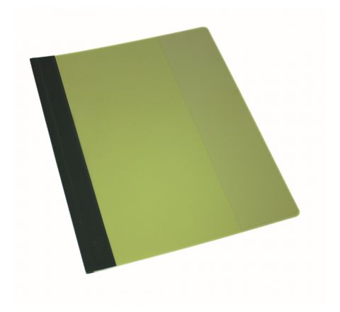 DURABLE A4 CLEAR VIEW FILES - GREEN - 2715-05
