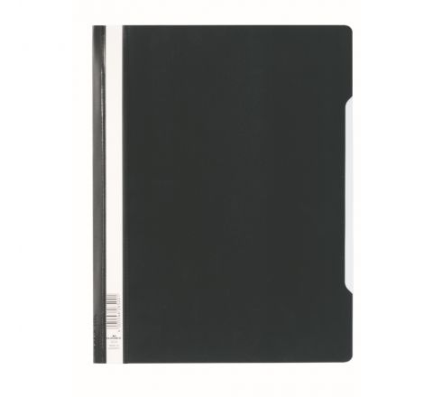 DURABLE CLEAR VIEW FOLDER - BLACK - 2570-01