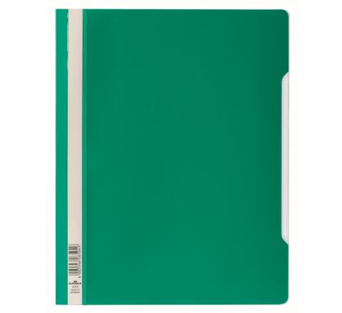 DURABLE CLEAR VIEW FOLDER - GREEN - 2570-05