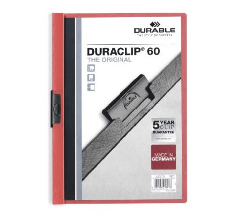 2209-03 DURABLE DURACLIP A4 SIZE RED COLOR