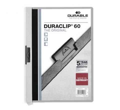 2209-10 DURABLE DURACLIP A4 SIZE GREY COLOR