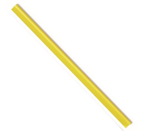 DURABLE 2901-04 SPINE BAR, A4 SIZE, 6 MM WIDTH, YELLOW COLOUR, 100 PIECES PER PACK