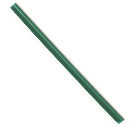 DURABLE 2901-05 SPINE BAR, A4 SIZE, 6 MM WIDTH, GREEN COLOUR, 100 PIECES PER PACK