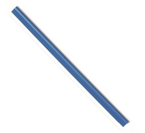 DURABLE 2901-06 SPINE BAR, A4 SIZE, 6 MM WIDTH, BLUE COLOUR, 100 PIECES PER PACK