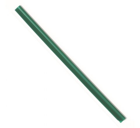 DURABLE 2900-05 SPINE BAR, A4 SIZE, 3 MM WIDTH, GREEN COLOUR, 100 PIECES PER PACK