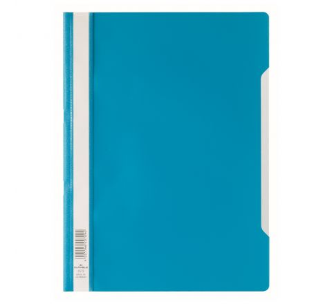 DURABLE 2573-06 CLEAR VIEW FOLDER, BLUE COLOUR