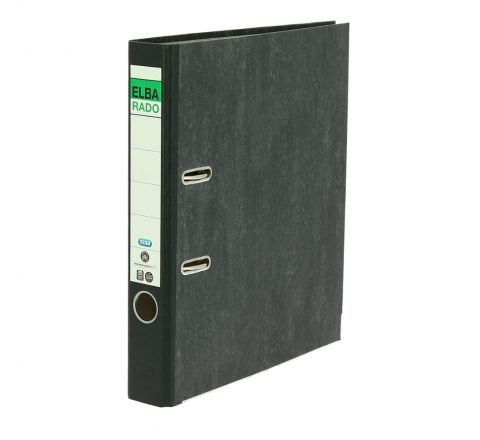 ELBA BOX FILE FULL SCAPE SIZE 5CM NARROW, BLACK COLOR, 10904