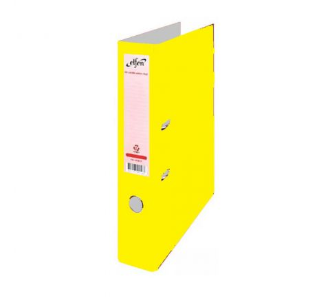ELFEN 1202 PP BOX FILE FULL SCAPE, YELLOW COLOUR
