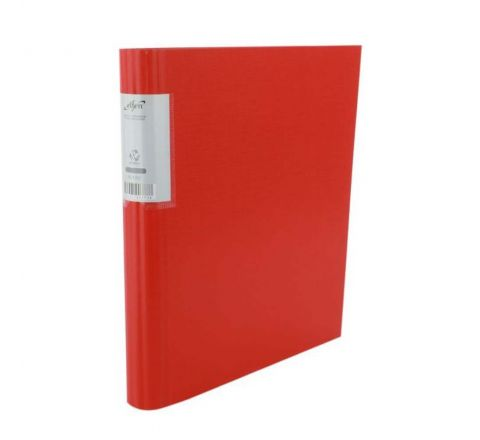 ELFEN 4202 PP ECONOMY RING BINDER, A4 SIZE, RED COLOR
