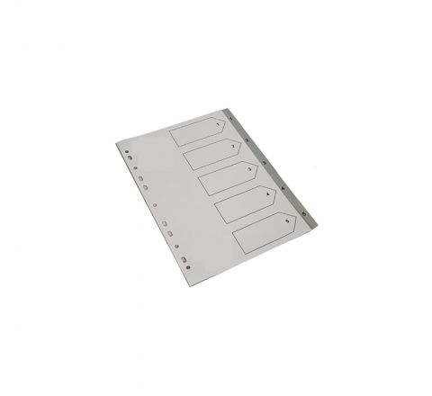 ELFEN 1005 PP INDEX 1-5 GREY COLOUR, A4 SIZE