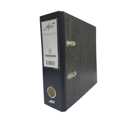 ELFEN 999 BOX FILE CARD BOARD A5 SIZE COLOUR BLACK