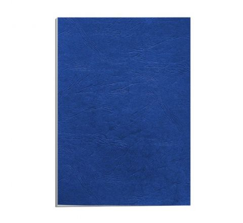 EMBOSSED BINDING SHEETS A4 230GSM, BLUE COLOUR, 100 PIECES PER PACK