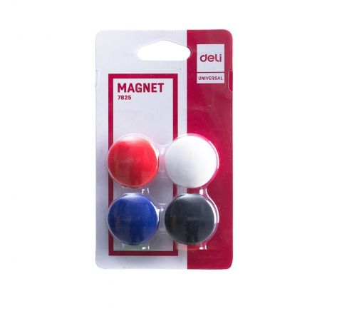 MAGNETIC BUTTON 40 MM BLISTER PACK, 4 PIECES PER PACK