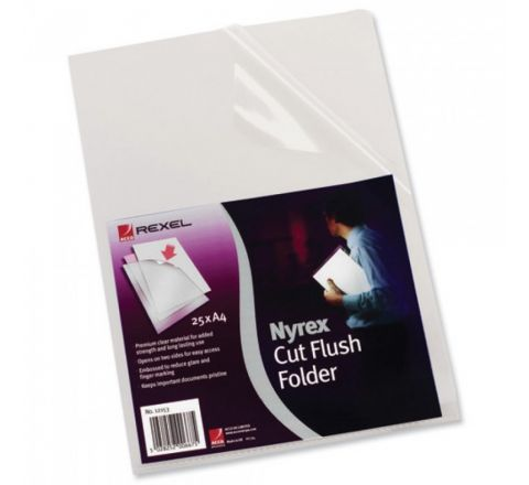 REXEL  12153  NYREX FOLDER PFC/A4 100 PIECES PER PACK