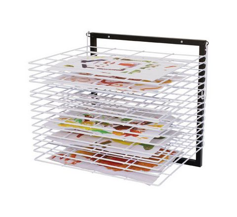 15 Tray Wall Mounted Drying Rack Each