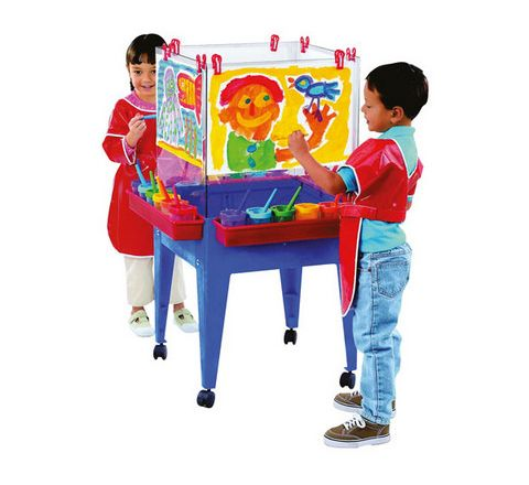 4 Sided Space Saver Easel Each