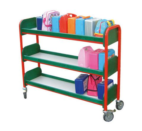 30 Slimline Lunchbox Trolley Red/Green Each