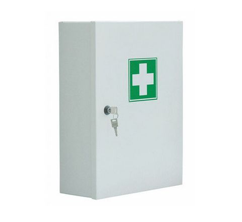 Cabinet First Aid + 20 Person Refill Each