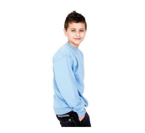 Childrens Plain Sweatshirt Various Colours And Sizes