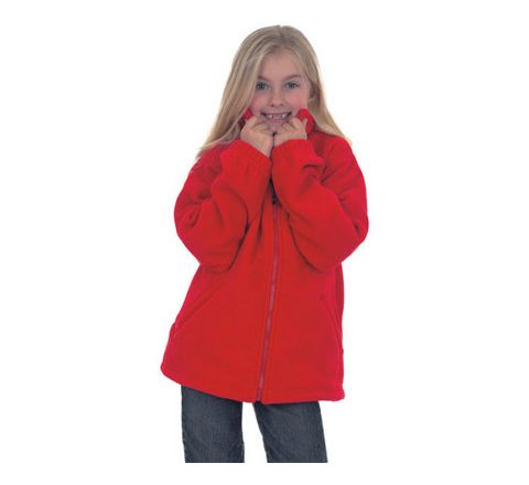 Childrens Plain Fleece Jacket
