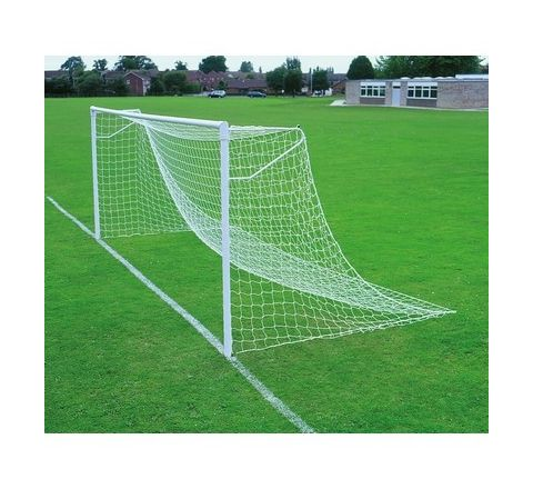 9 V 9 Heavyweight Football Goal Nets Pair