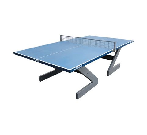 Butterfly City Concrete Table Tennis Table Blue Each