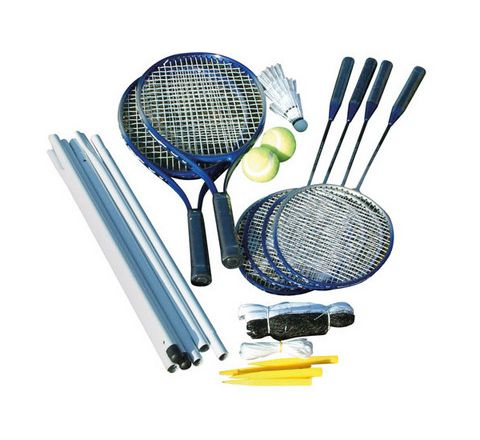 Badminton/Tennis Set Blue Pack 14
