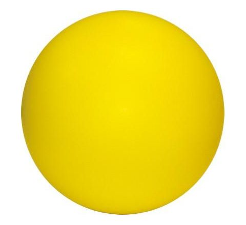 Coated Foam Ball 21cm Yellow