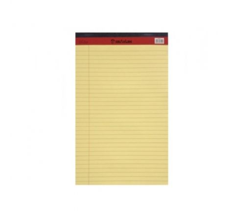 PD02077 SINAR LEGAL PAD YELLOWCOLOUR, A4 SIZE, 50 SHEETS PER PAD