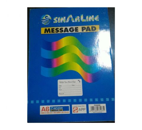 SINAR  PD06090  MESSAGE PAD A6