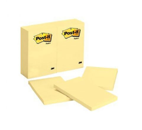 3M  659 POST-IT NOTES 4 X 6