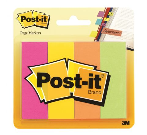 3M  671-4AF POST-IT PAGE MARKER 4 PADS