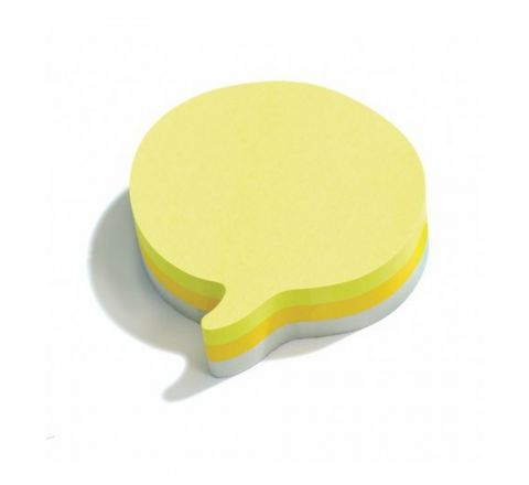 3M  2007SP-75 POST-IT SPEECH BUBBLE 3NEON CO