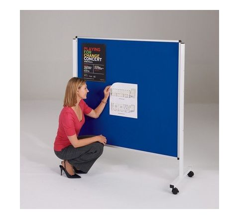 Budget Mobile Noticeboard 1200x1200mm