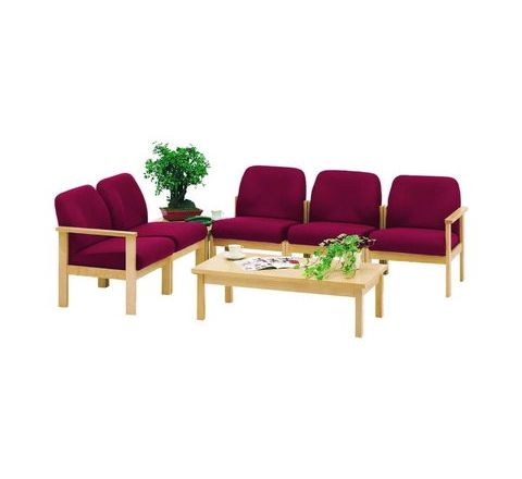 7000 Reception Low Back Chair - Single Left Hand Arm