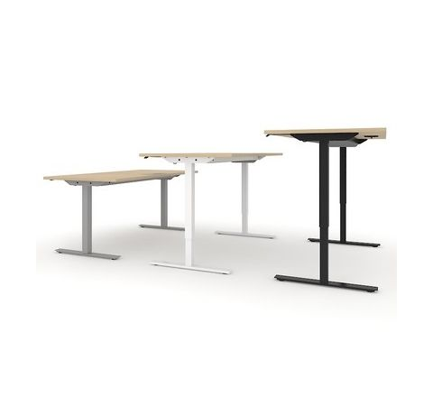 1600W Rectangular Electric Height Adjustable Desk