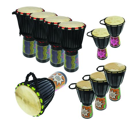 A-Star Djembe 10 Player Pack