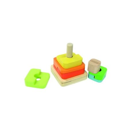 Shape Stacking Toy Size: 110 x 95 x 110mm Each