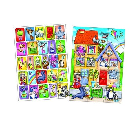 Look and Find Alpahabet Jigsaws Set