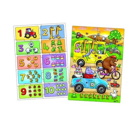 Look and Find Number Jigsaws Set