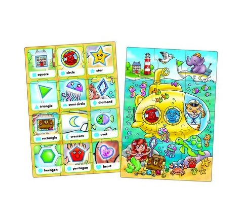 Look and Find Shapes Jigsaws Set