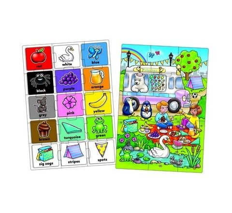Look and Find Colour Jigsaws Set