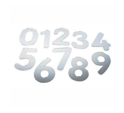 Mirrored Numbers Pack 10