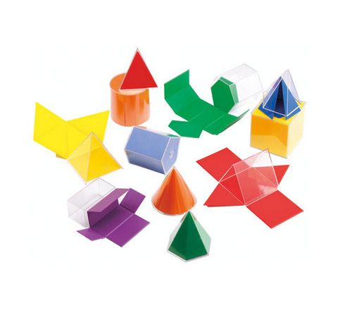 Folding Geometric Shapes Set 12