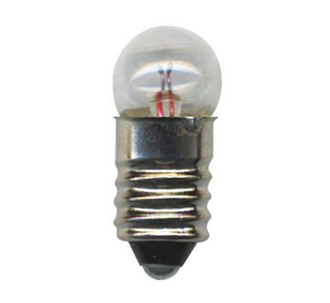 1.5V MES Torch Lamps 1.5V Silver Pack 10